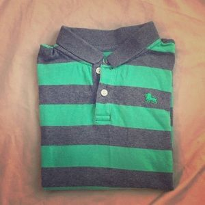 Boys Old Navy Striped Shirt, size Medium